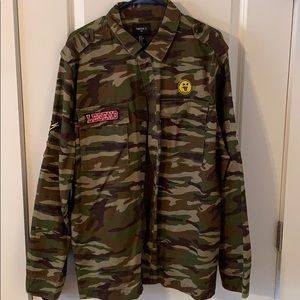 Camo Jacket w/ patches